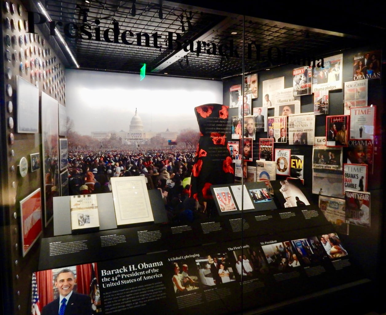 President Obama National Museum of African American History and Culture Washington DC