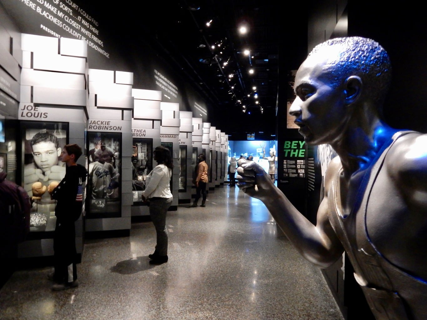 Sports Greats - National Museum of African American History and Culture Washington DC
