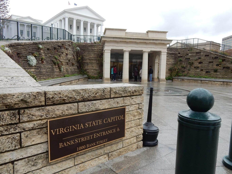 Visitors Center, Virginia State House Richmond VA
