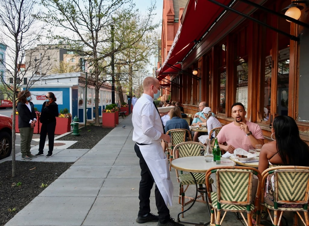 Le Diplomate Outdoor Dining Washington DC