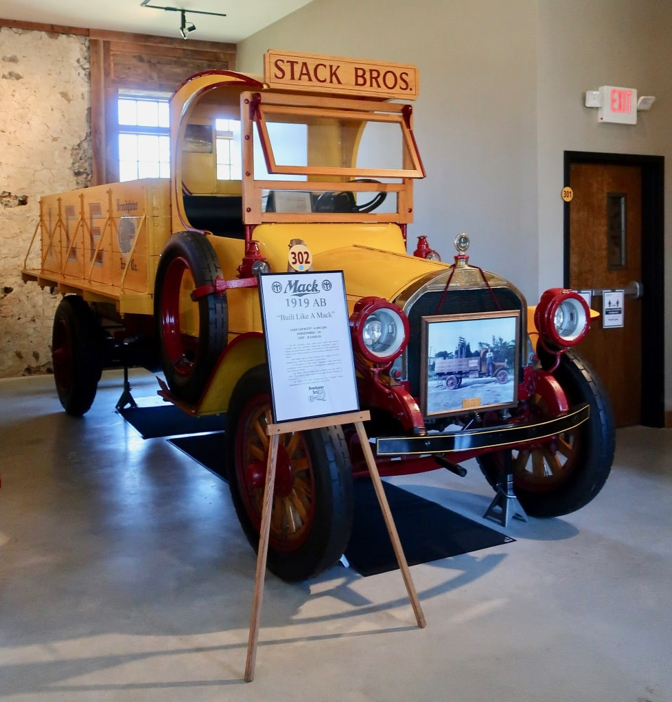 1919 Mack Ice Truck Antique Ice Tool Museum PA
