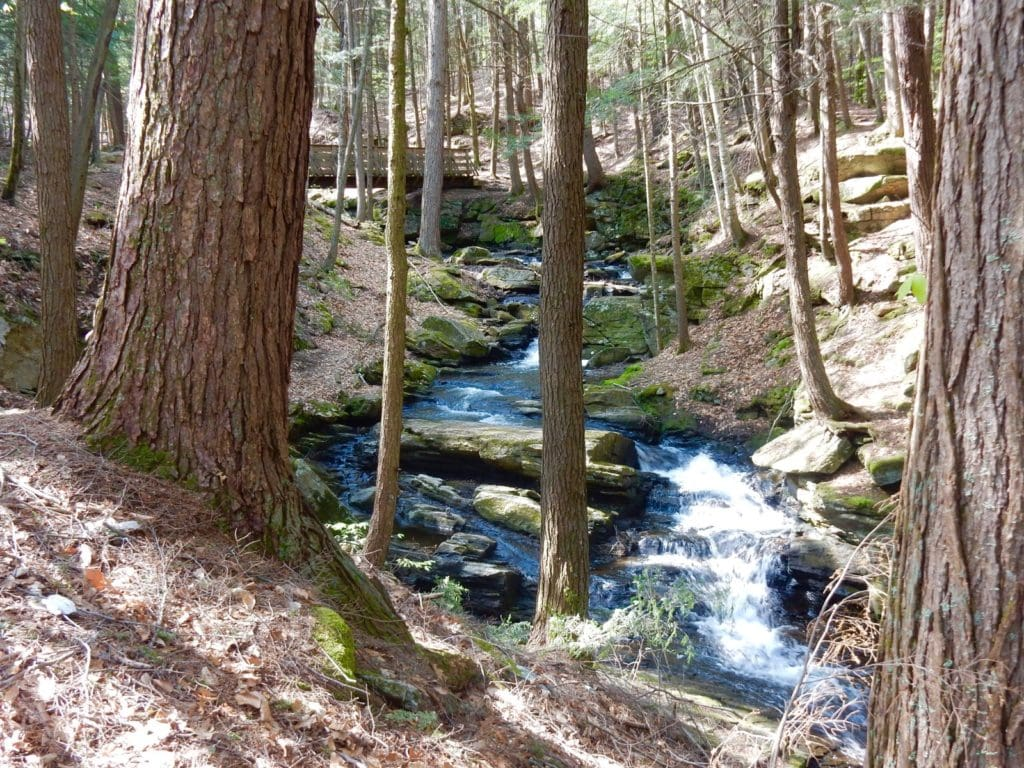 Chesterfield Gorge NH on a Southwest New Hampshire Weekend Getaway