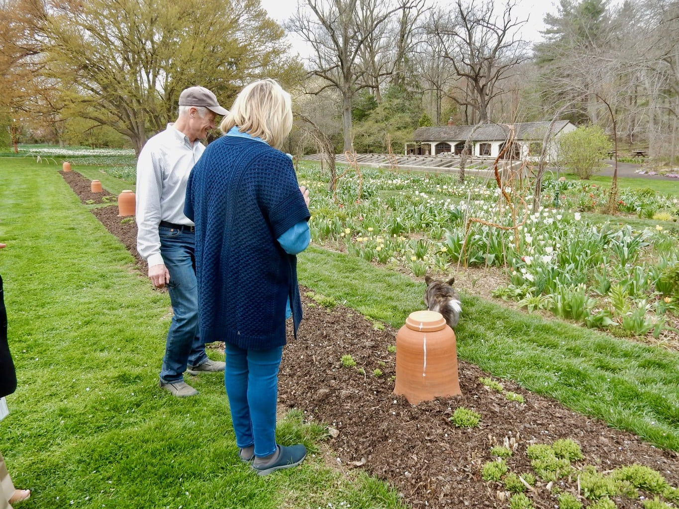Martha Stewart at Chanticleer Garden Wayne PA