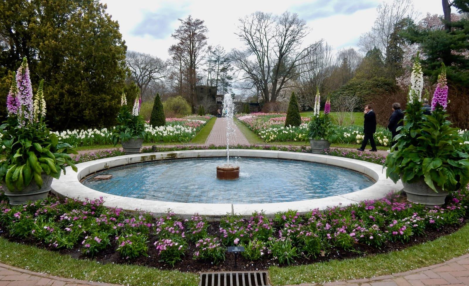 Original Fountain Longwood Gardens PA