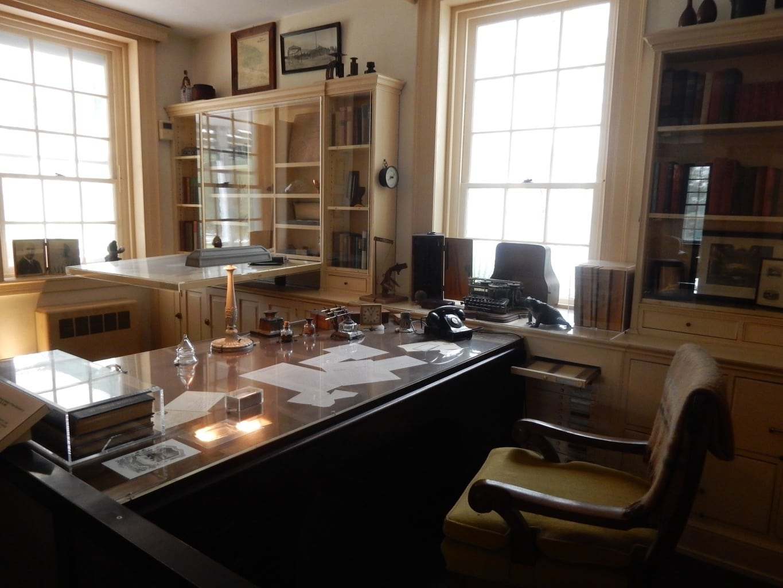 Pierre Du Pont's Office Longwood Gardens PA