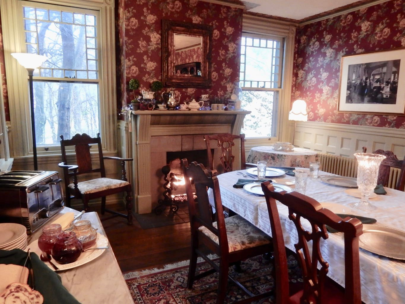 Candlelit Breakfast Faunbrook BnB West Chester PA