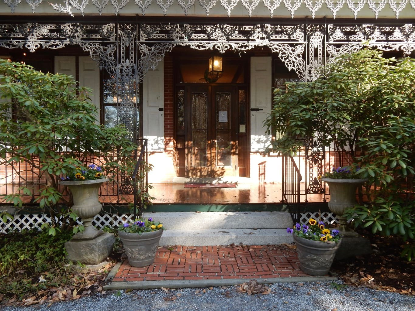 Entrance to Faunbrook BnB, West Chester PA