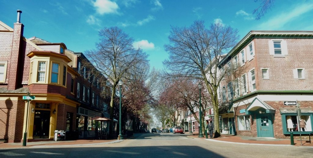 Downtown West Chester PA