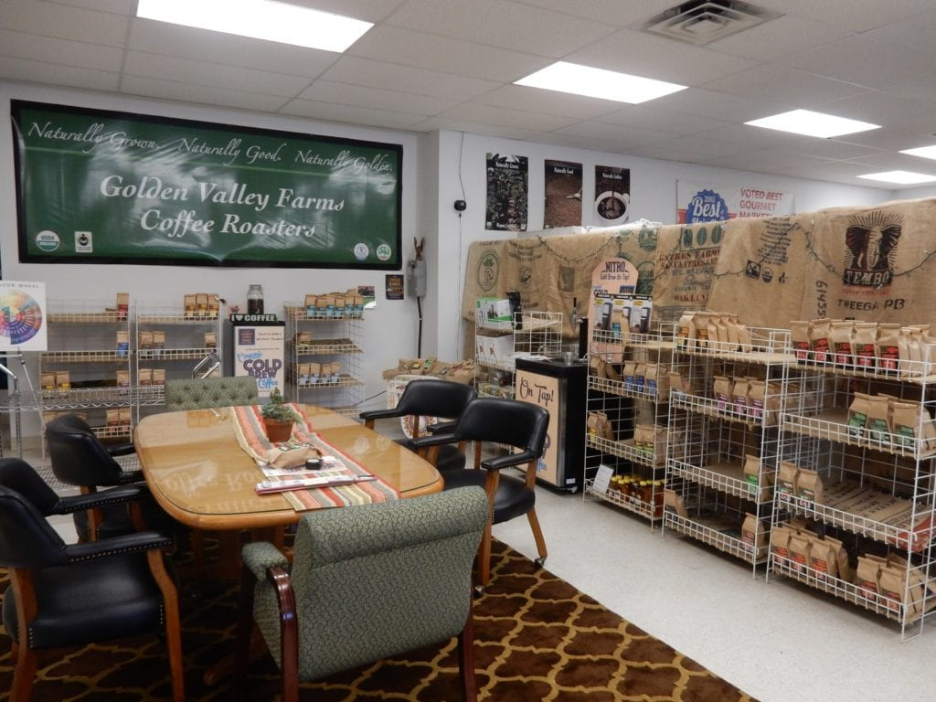 Golden Valley Farms Coffee, Artisan Exchange West Chester PA
