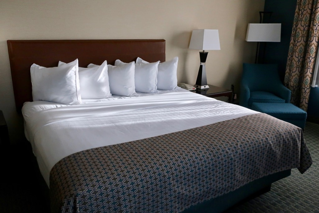 Hotel Warner Guest Room West Chester PA