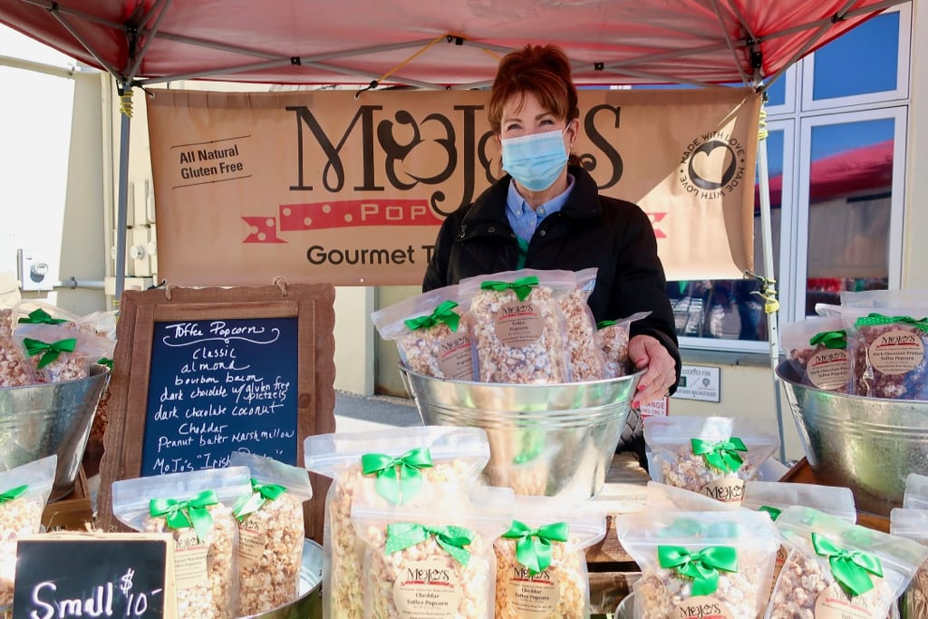 MoJos Popcorn Artisan Exchange outdoor Saturday market West Chester PA