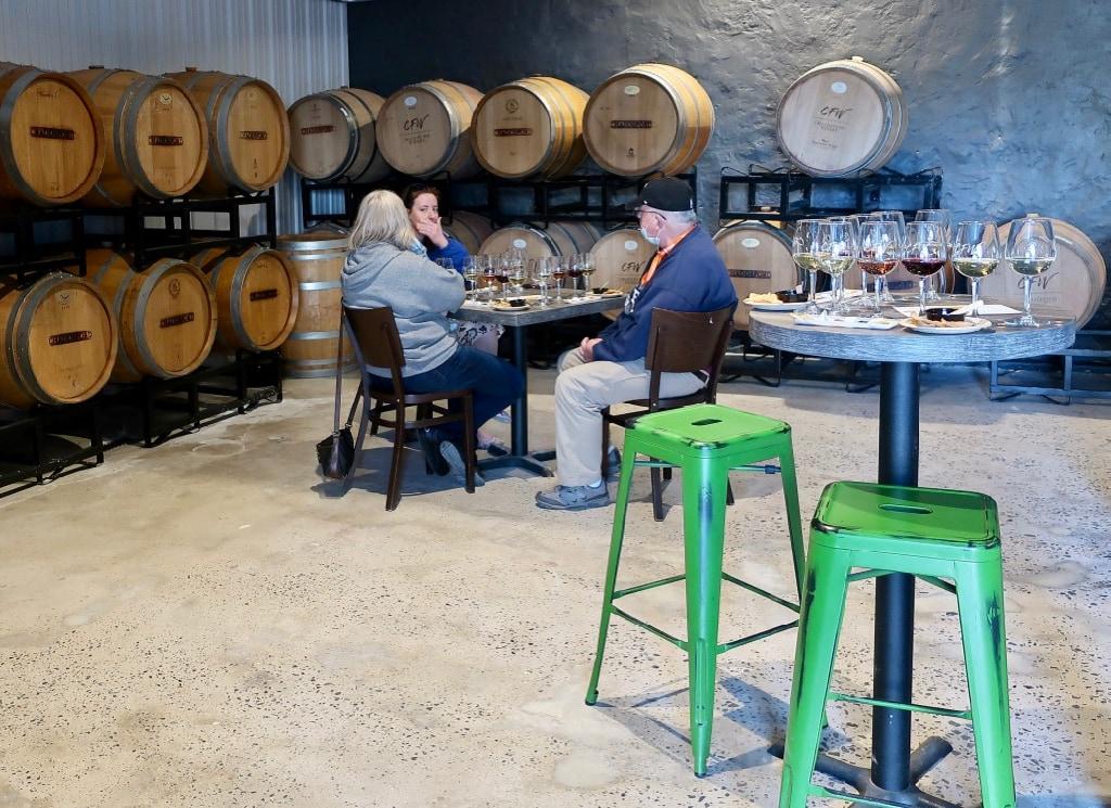 Barrel Room Tasting Chaddsford Winery PA