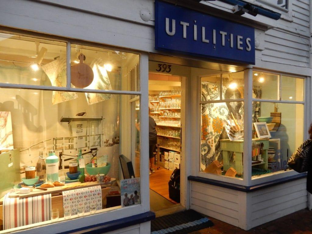 Utilities store exterior