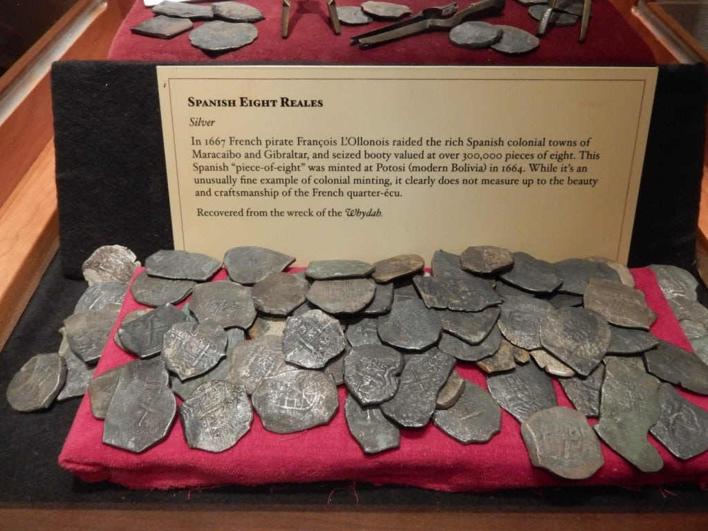Whydah Treasure, Expedition Whydah Museum, Provincetown MA