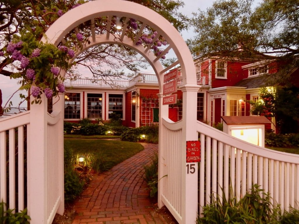 Red Inn Garden Trellis