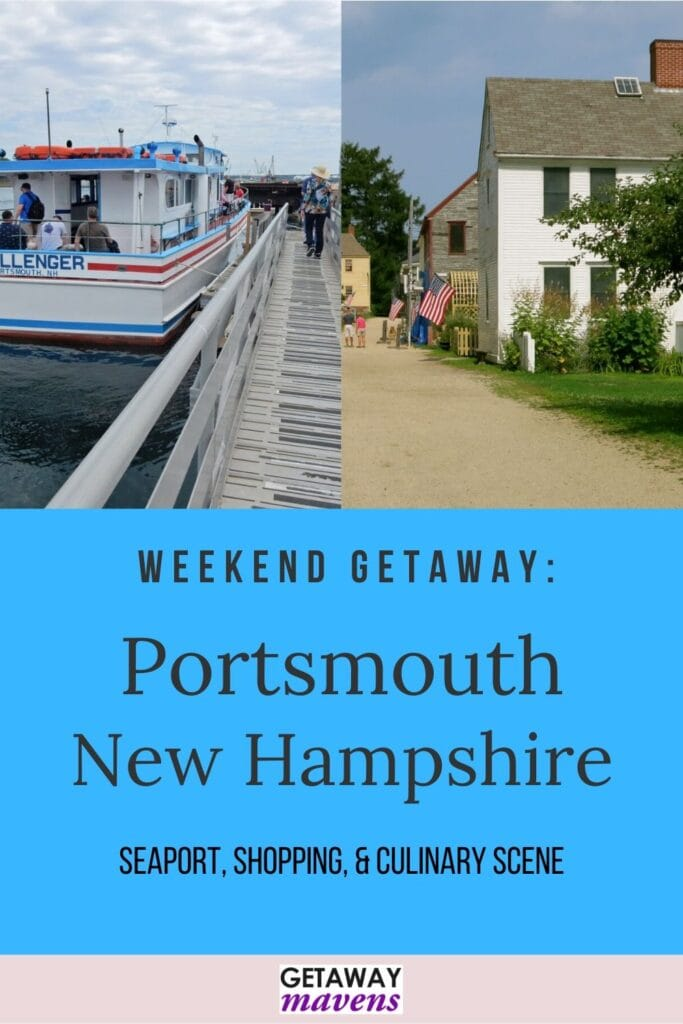 Portsmouth NH Pin