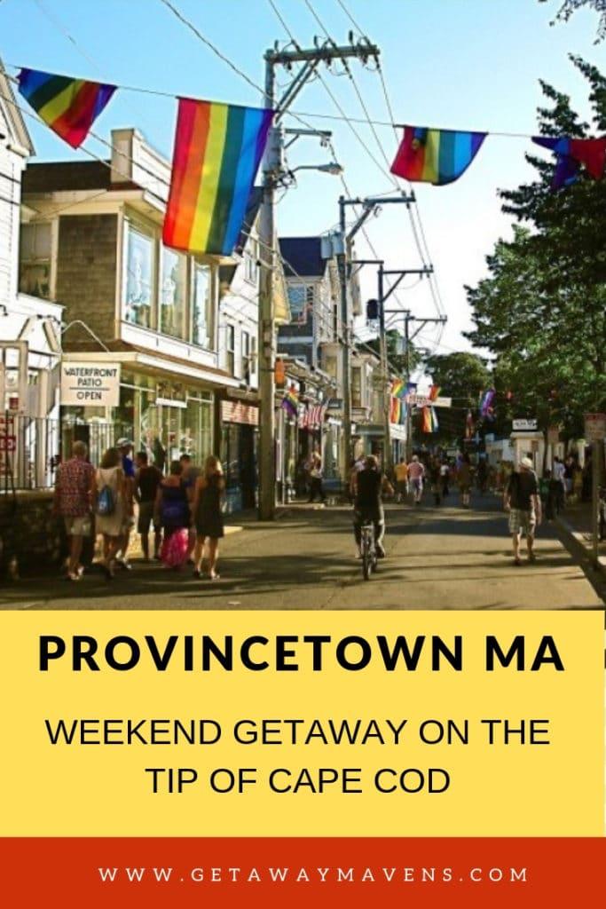 Provincetown MA Pin