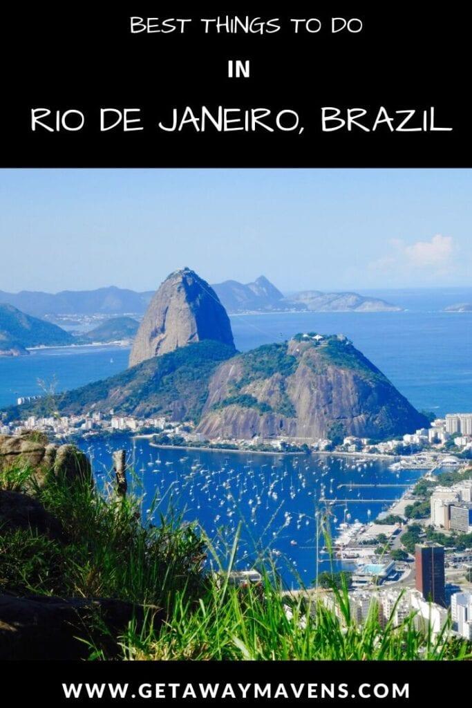 Rio De Janeiro Pin