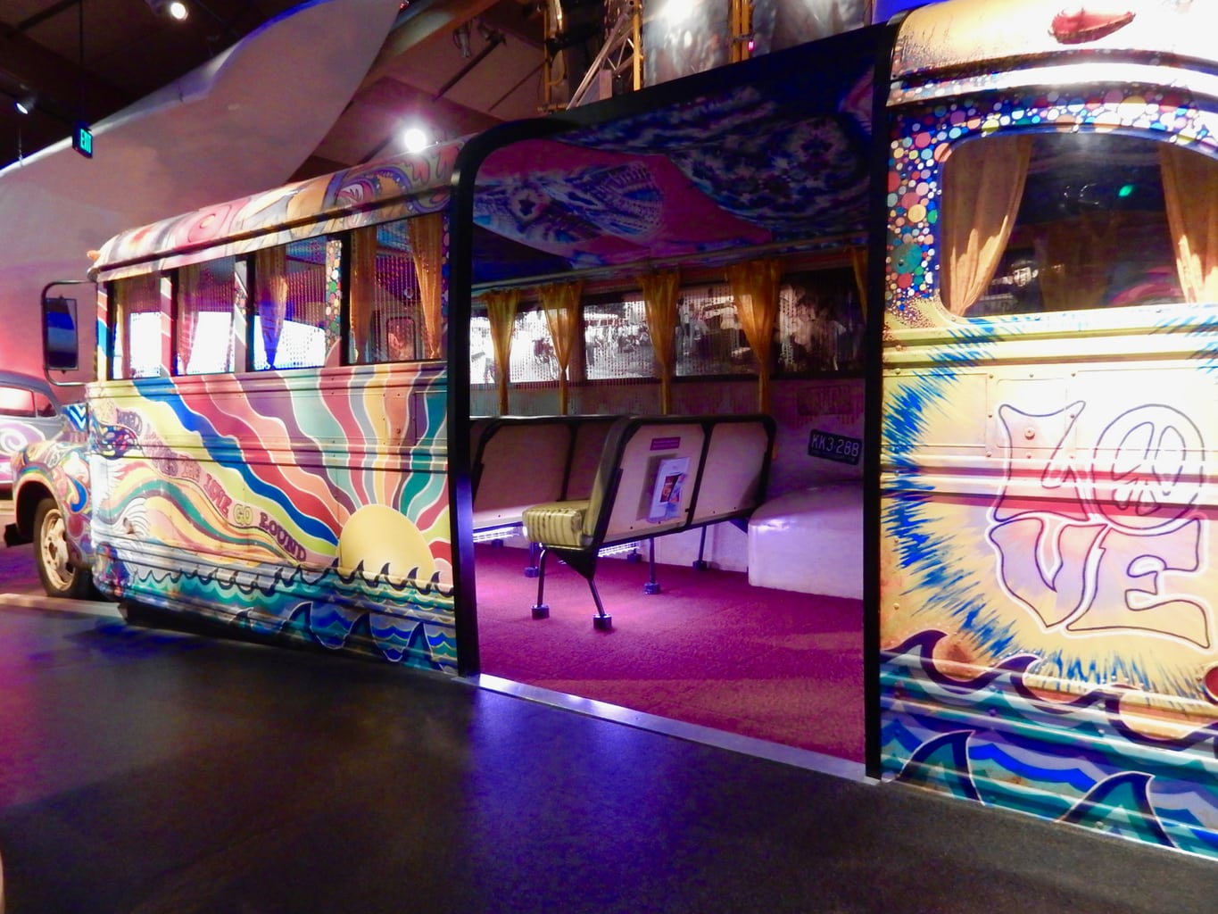 Magic Bus, Bethel Woods Museum, Bethel NY
