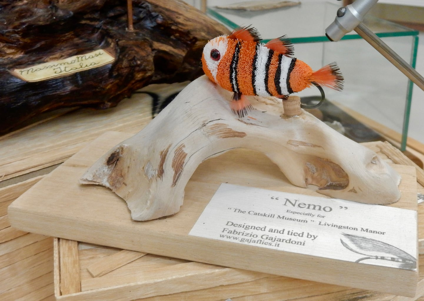 Nemo Fly at Catskill Flyfishing Museum, Livingston Manor NY