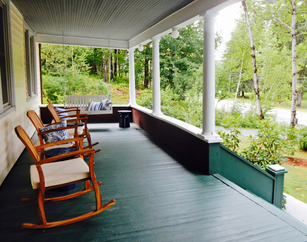 Porch - The DeBruce - Livingston Manor NY