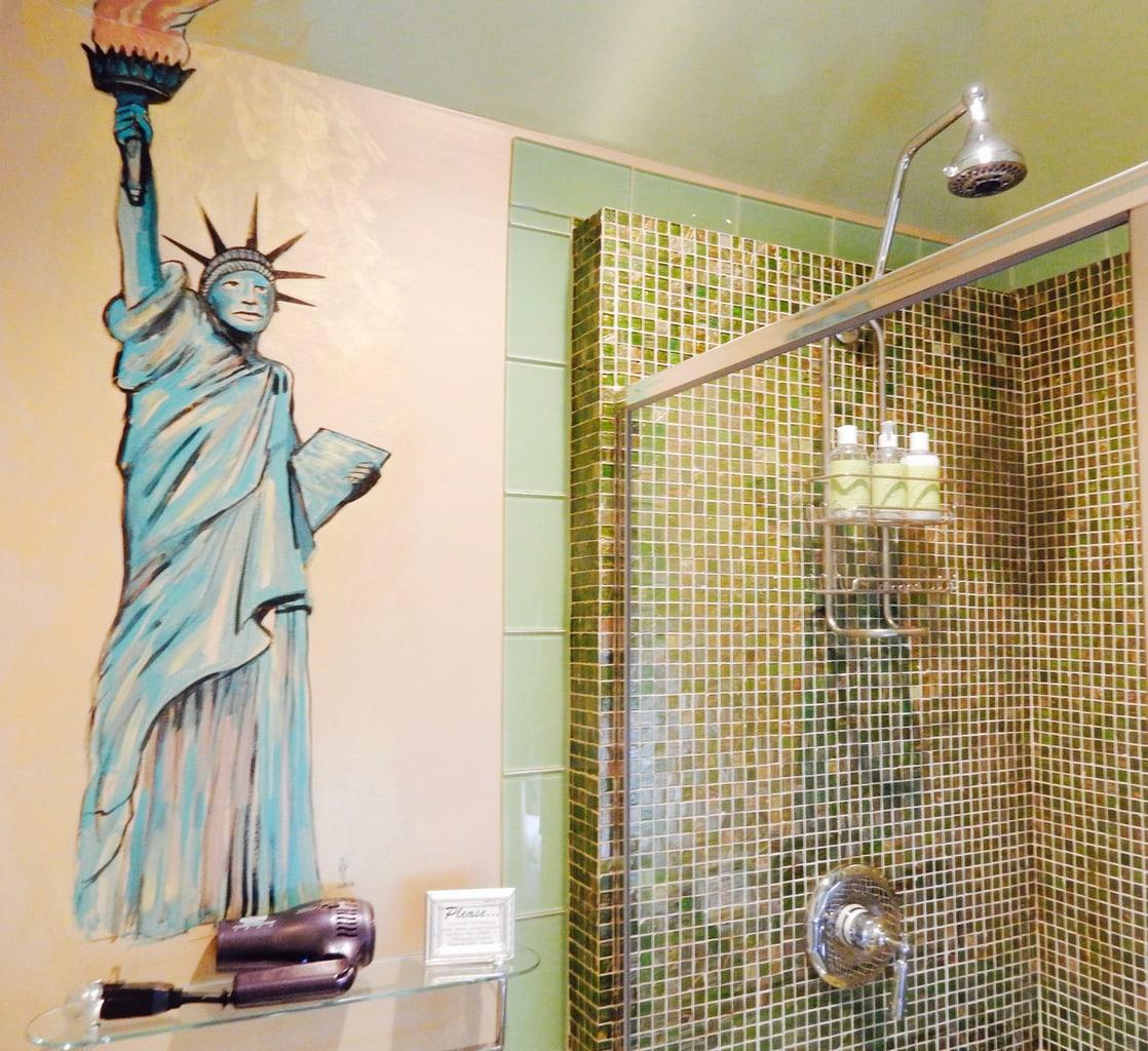 Liberty Bathroom Ellwanger Estate Rochester NY