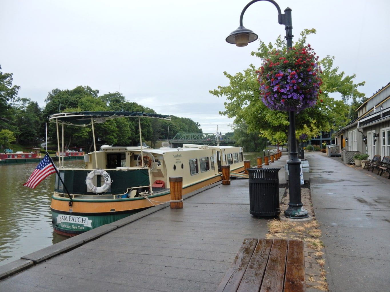 Sam Patch Canal Boat Pittsford NY