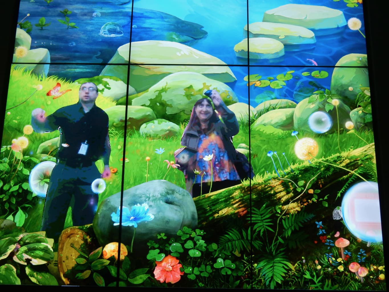 Virtual Interactive Bubbles Strong Museum Rochester NY
