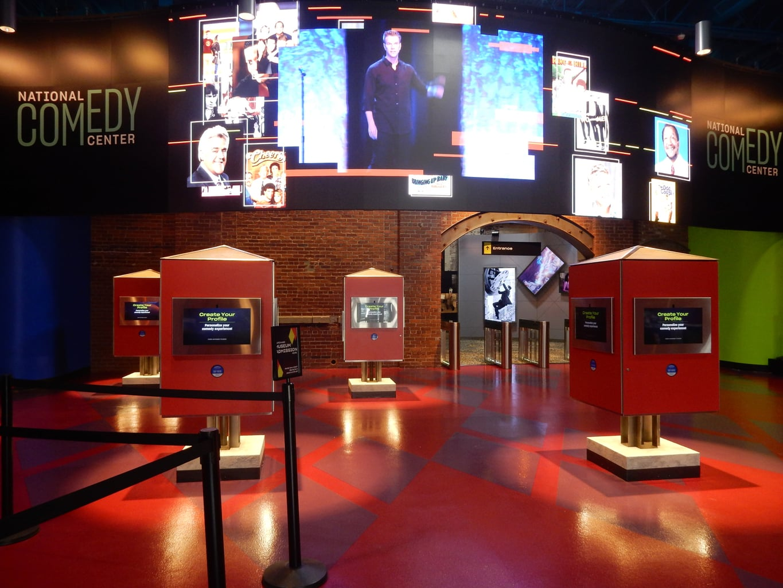 Lobby National Comedy Center Jamestown NY