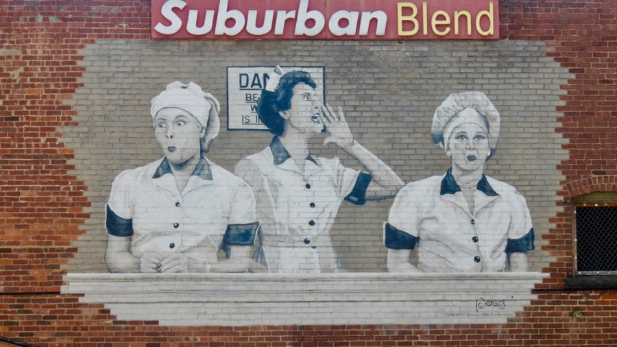 Lucy Mural, Jamestown NY