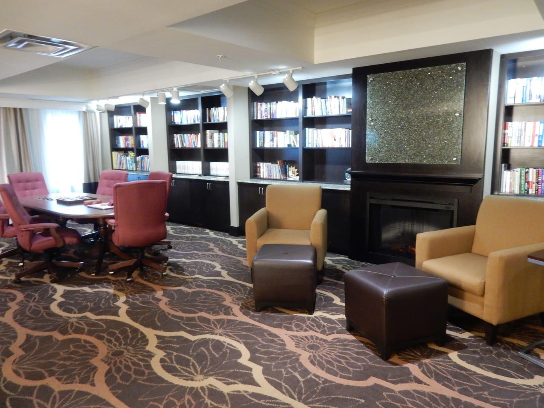 Library, Comfort Suites Dubois PA