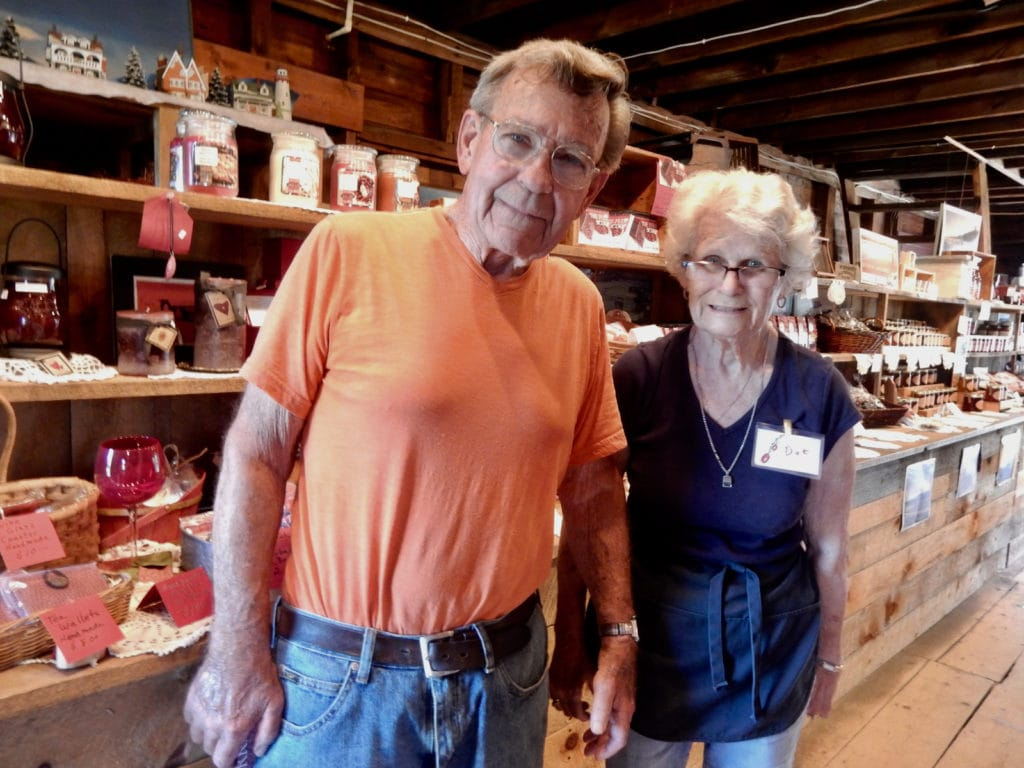 Dot and Jack Angley, owners, Flax Pond Farm Carver MA