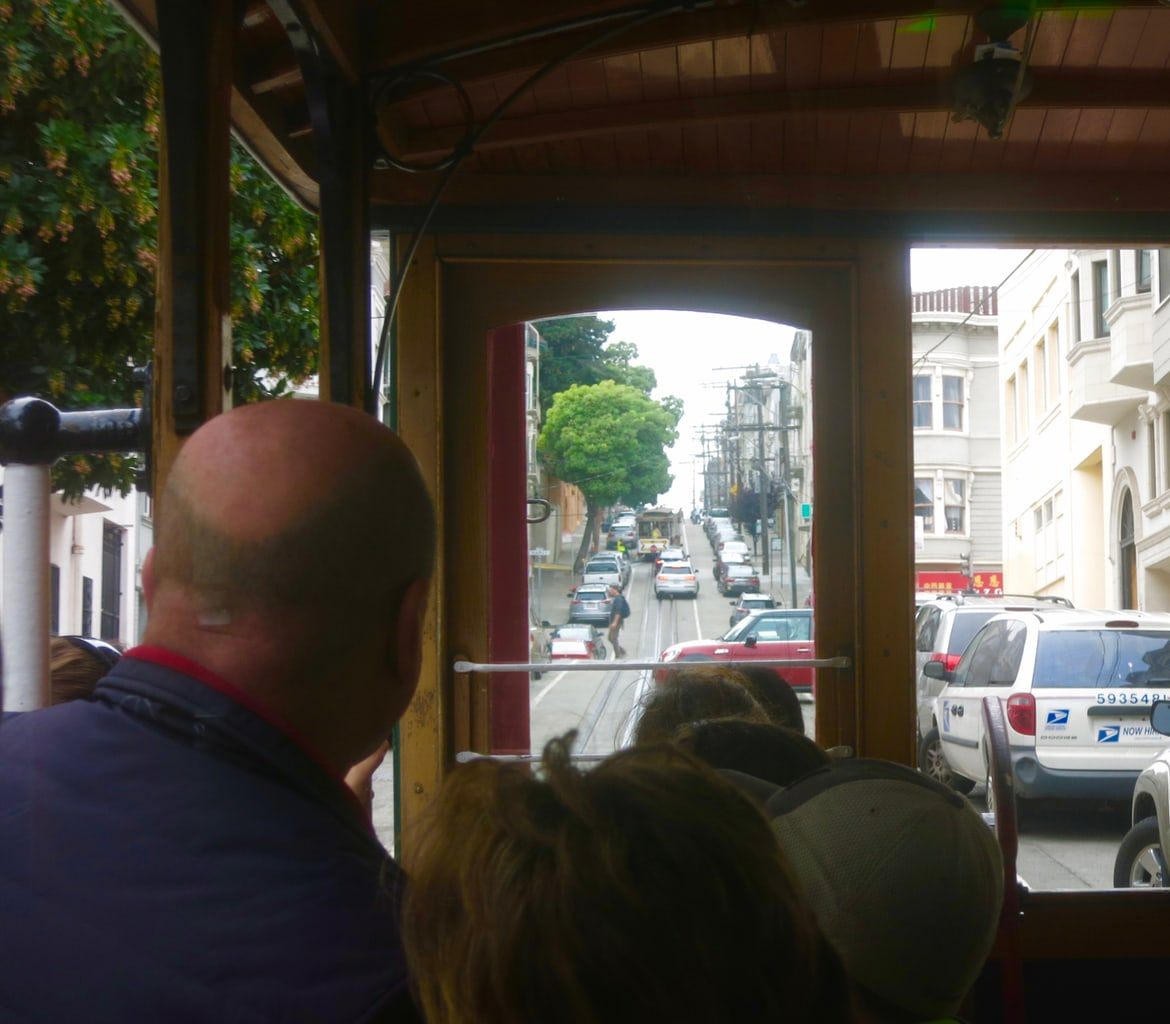 Cable Car Ride, San Francisco CA