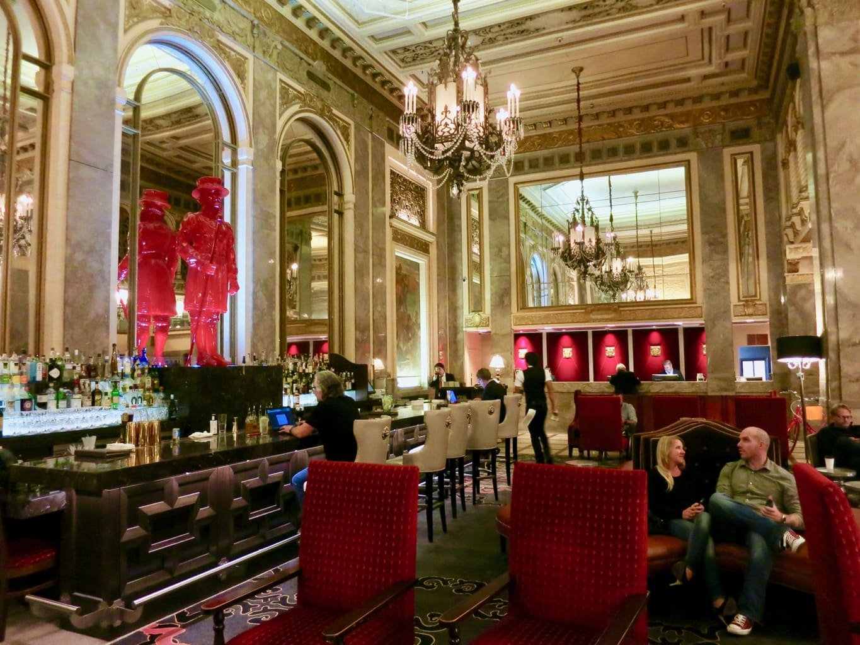Lobby Sir Francis Drake Hotel San Francisco