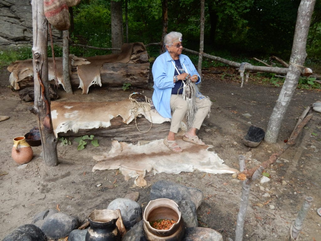 Wampanoag Settlement at Plimoth Plantation in Plymouth MA
