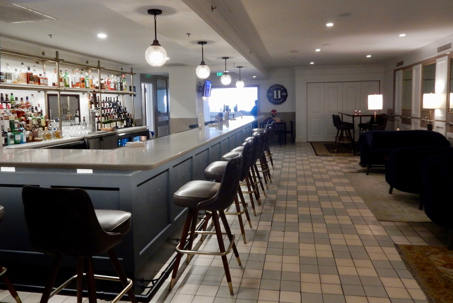 Bar at Eleven Waters Marriott Syracuse Downtown