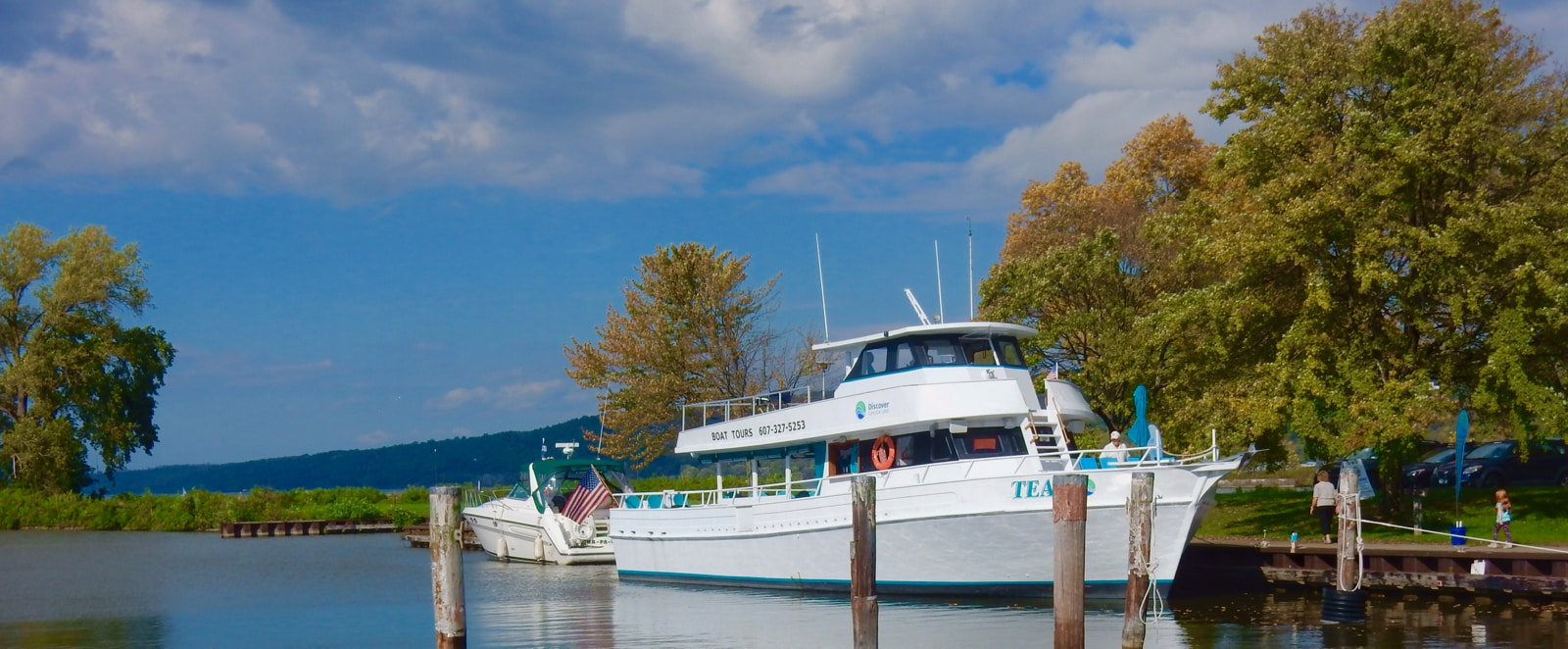Discover Cayuga Boat Tours Ithaca NY