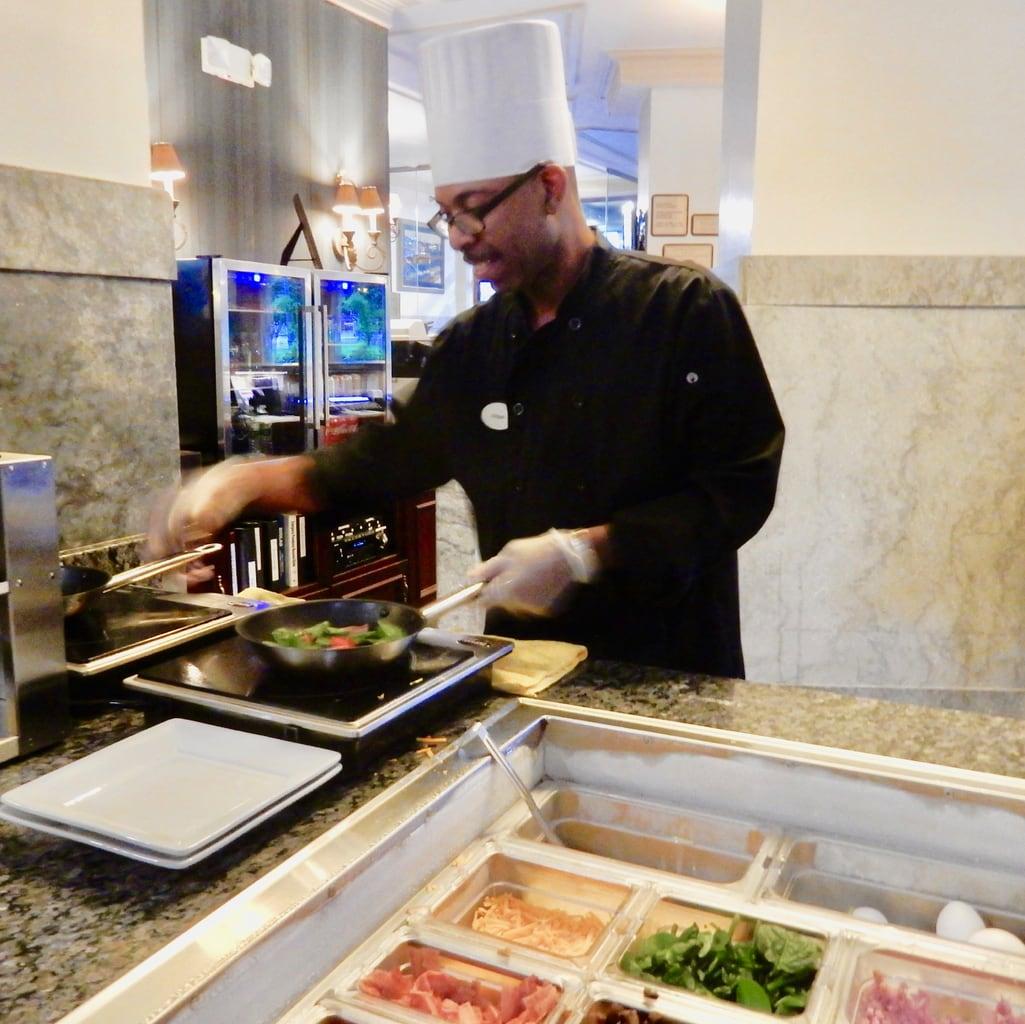 Fresh Omelets Jefferson Clinton Hotel Syracuse NY