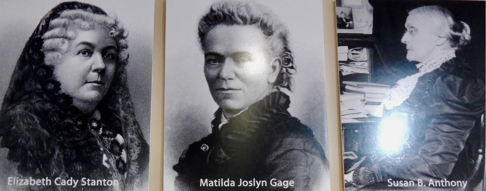 Gage, Stanton, Anthony, Women's Rights Pioneers