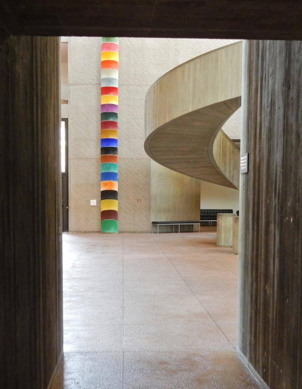 Interior Everson Museum of Art Syracuse NY