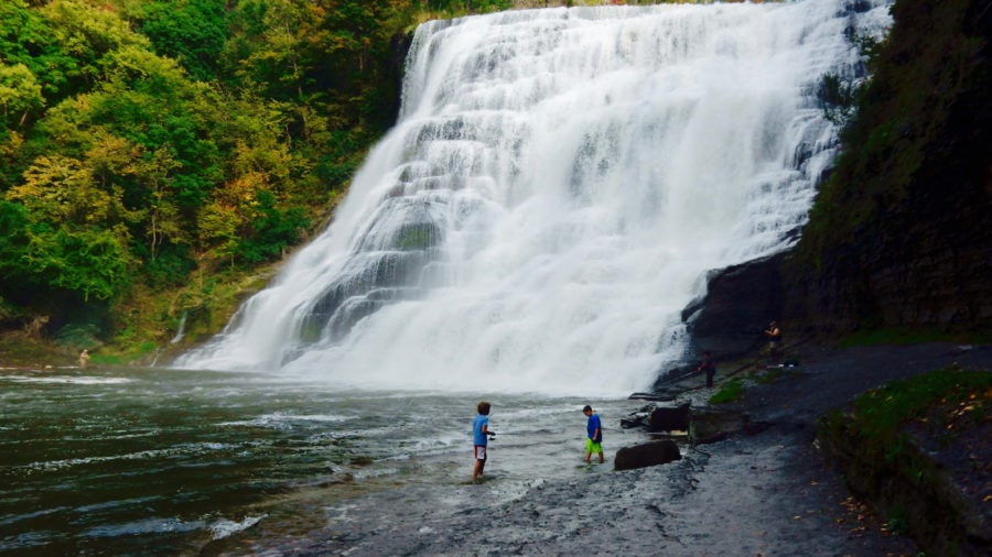 Ithaca NY: Do Go Chasing Waterfalls
