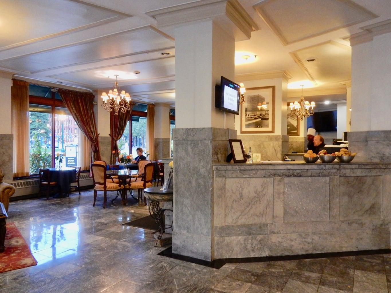 Lobby Reception Jefferson Clinton Hotel Syracuse NY