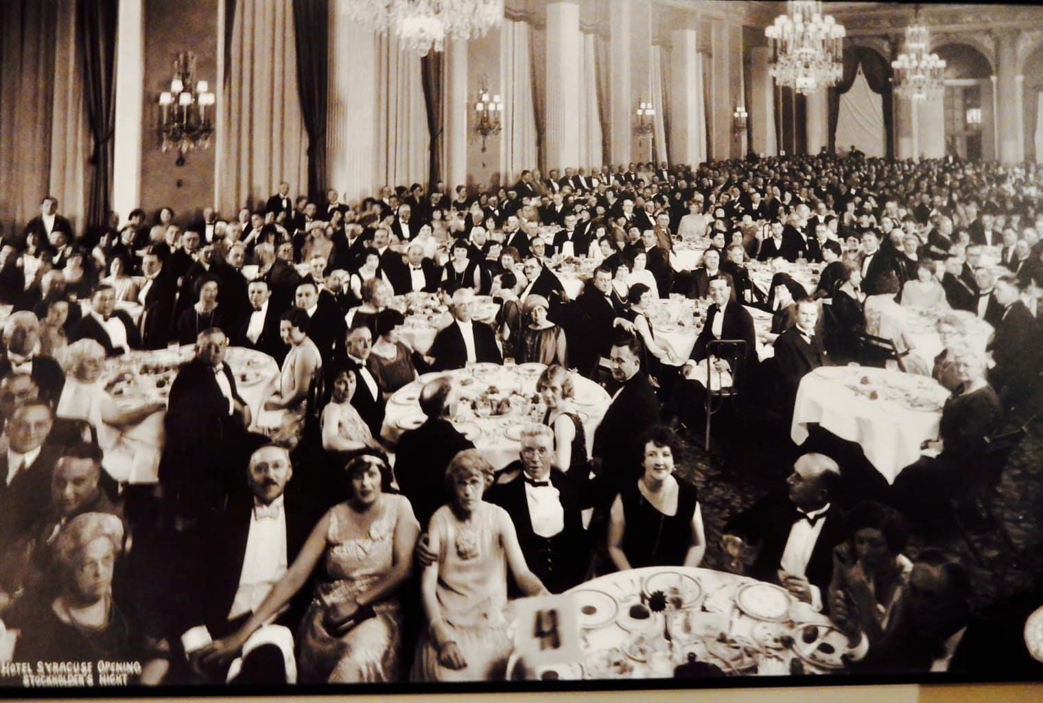 Photo Opening of Hotel Syracuse Party