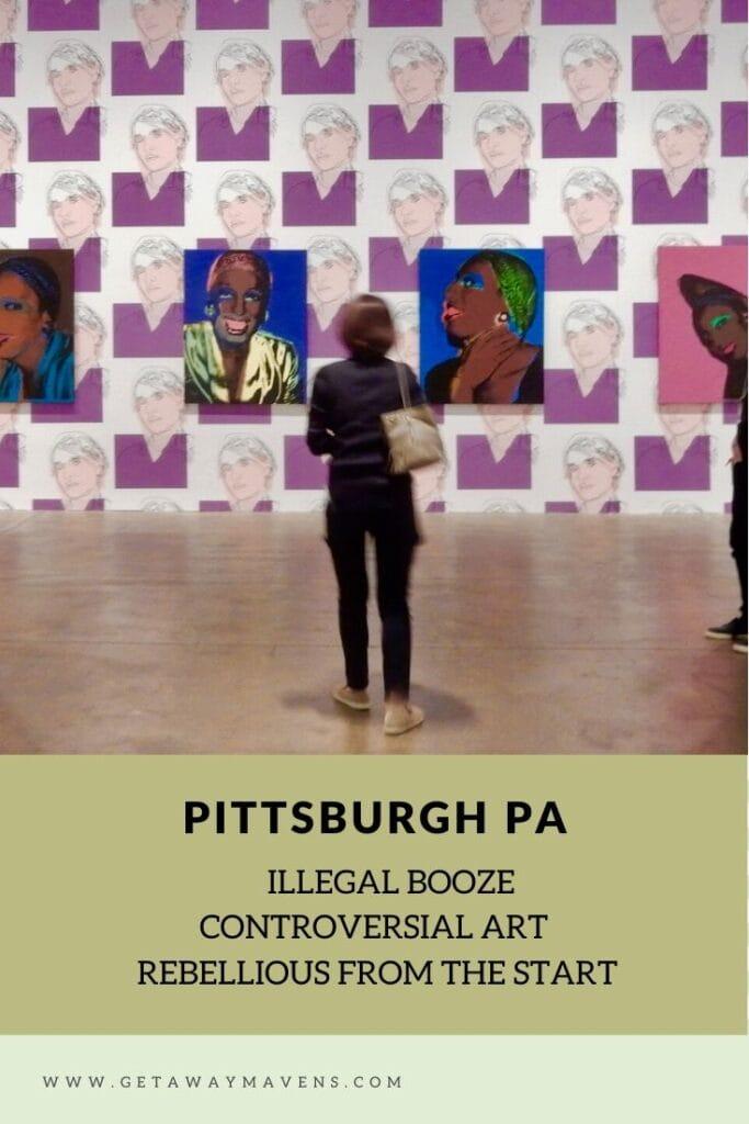 Rebel Pittsburgh PA Pin