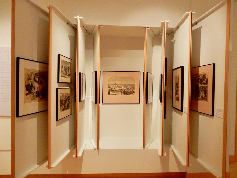 Study Cabinets SUArt Gallery Syracuse NY