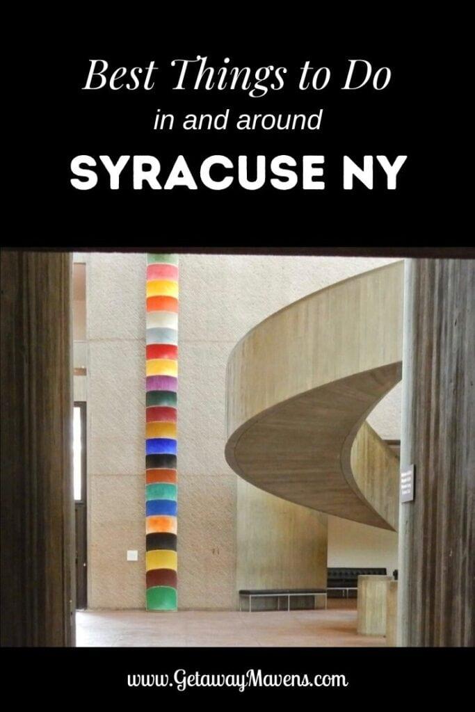 Syracuse NY Pin