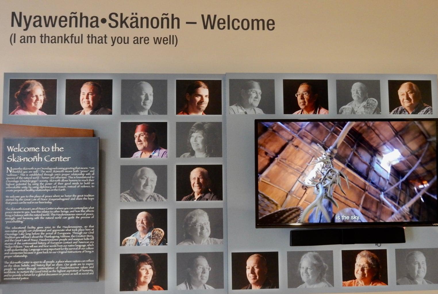 Thankfulness Ska.Nonh Great Law of Peace Center Syracuse NY