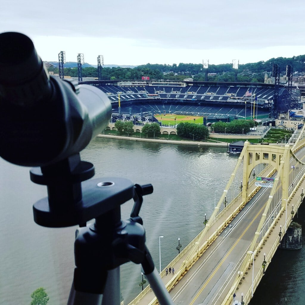 View of PNC Stadium from Renaissance Pittsburgh Hotel