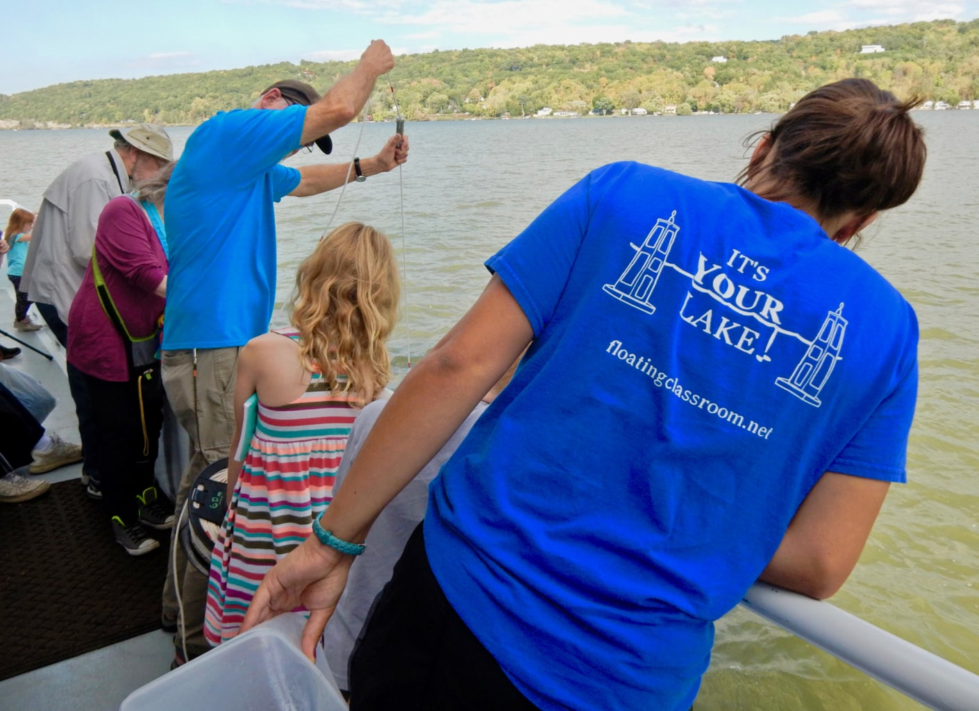 Water Sampling Discover Cayuga Boat Tours Ithaca NY