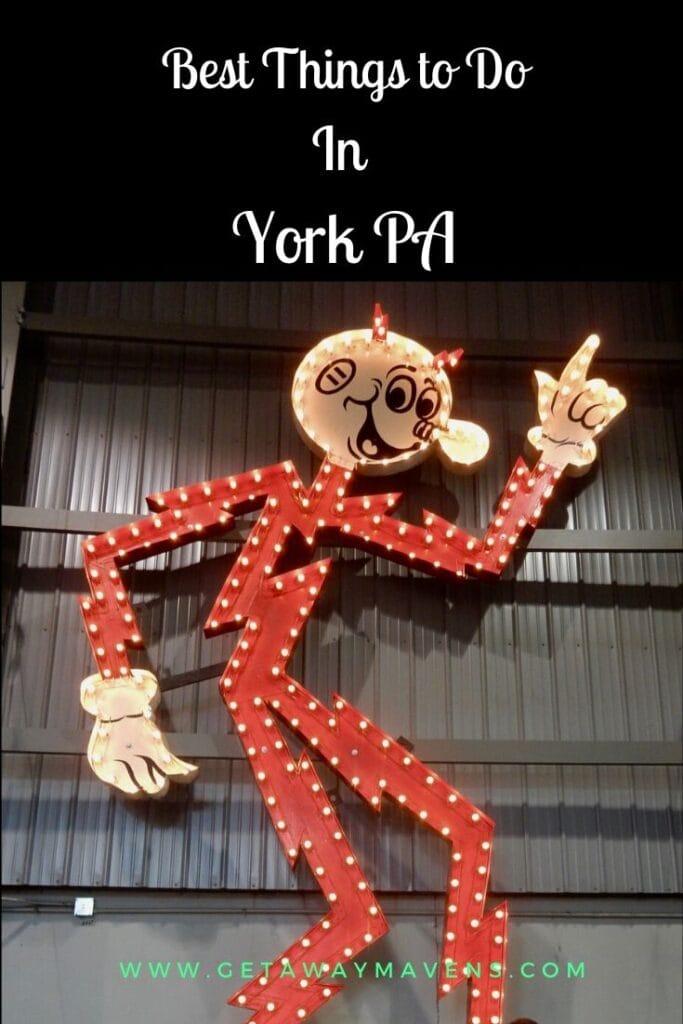 York PA Pin